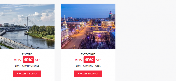Le Club AccorHotels Worldwide Up To 50 Percent Off Private Sale July 5 2017 Russia 4