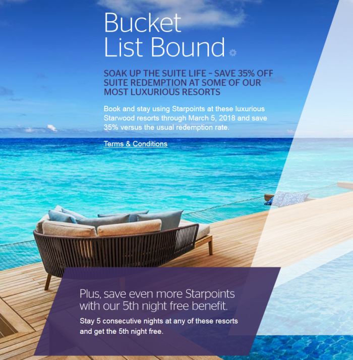 SPG Resort Promotion