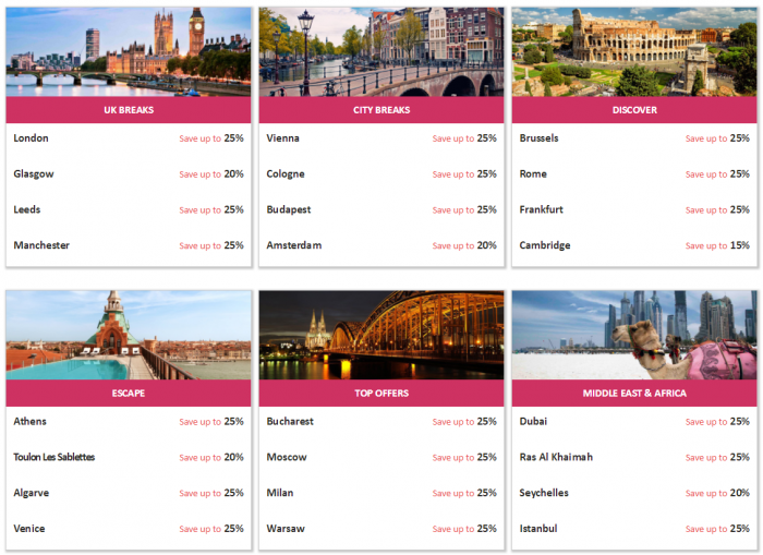 Hilton Honors Europe Middle East & Africa Summer Sale Top Destinations