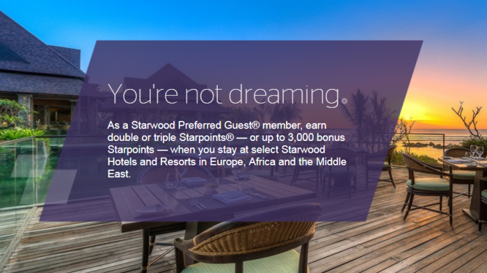 SPG Earn Your Dreams