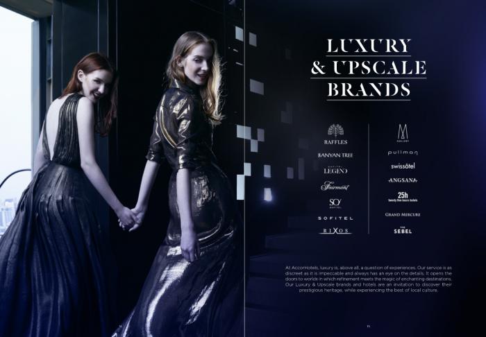 AccorHotels Brand Book 2017 Luxury