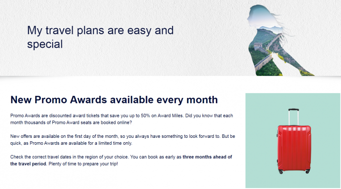 Air France - KLM Flying Blue October Promo Awards