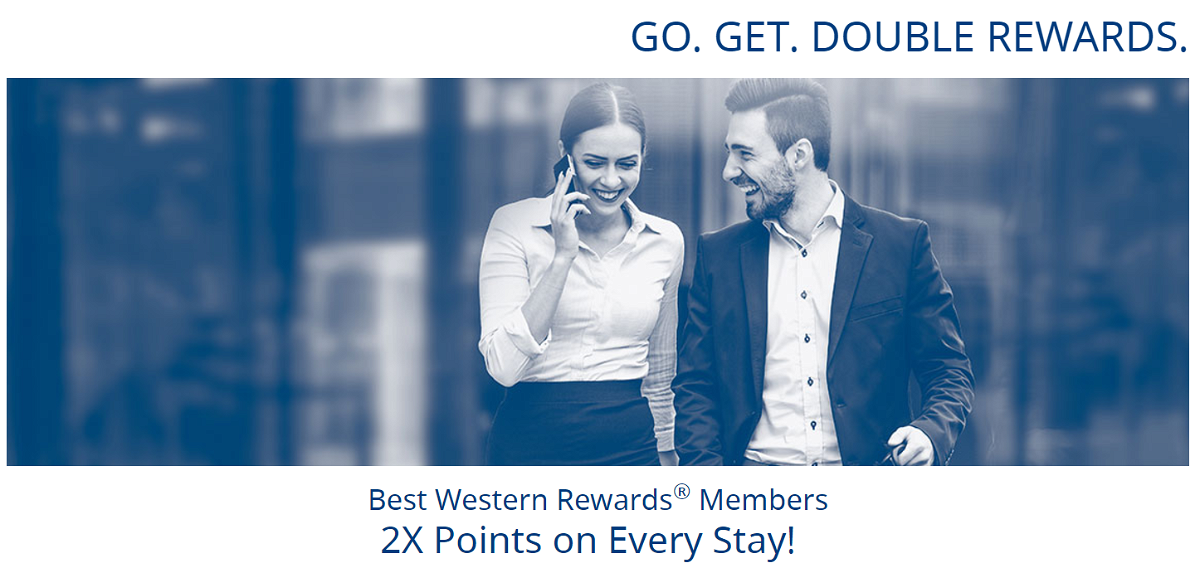 Best Western Rewards Double Points September 18 - November 30 2017 + Redemption Offer