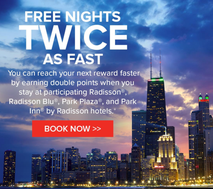 Club Carlson Double Points For Business Package Bookings In The Americas Through December 31, 2017]