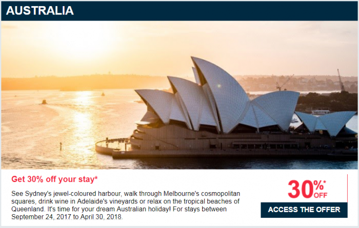 Le Club AccroHotels Up To 40 Percent Off Private Sale September 2017 Australia