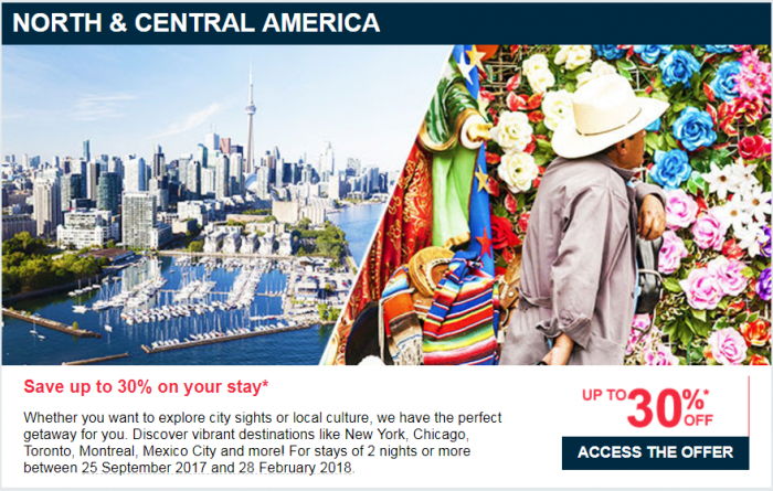 Le Club AccorHotels Up To 40 Percent Off Private Sale September 2017 North & Central America