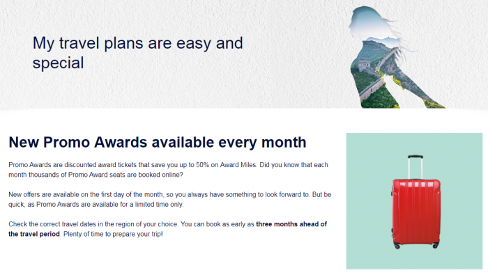 Air France - KLM Flying Blue November Promo Awards
