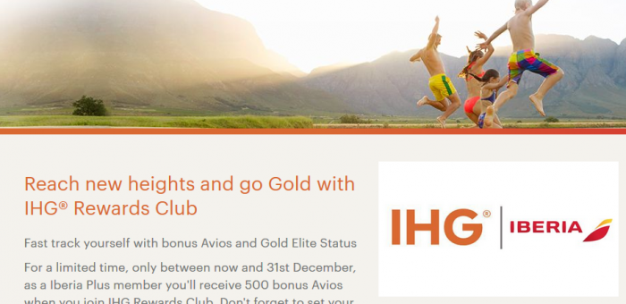 IHG Rewards Club Iberia Plus