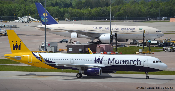 Monarch Airlines Has Entered Administration