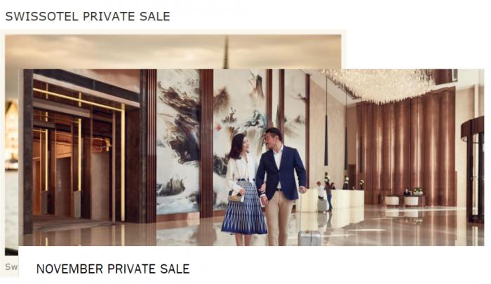Fairmont & Swissotel Private Sales