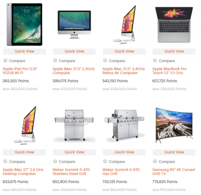 IHG Rewards Club Catalog 15 Percent Off Sale Products