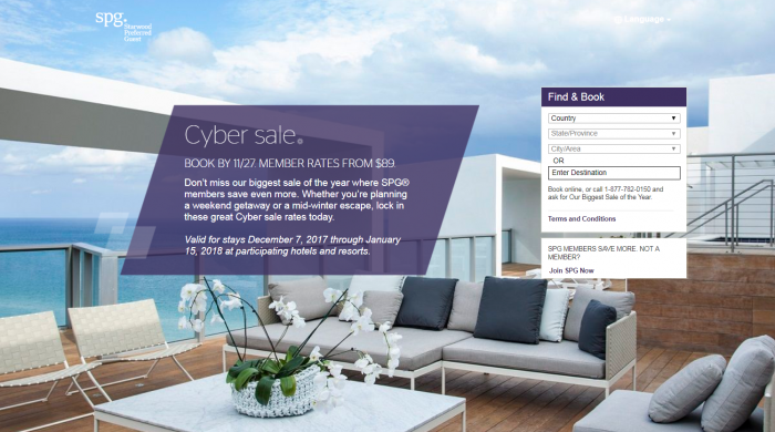 LAST CALL SPG CYBER SALE 2017