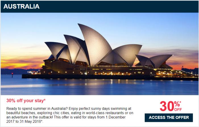 Le Club AccorHotels Private Sales Australia