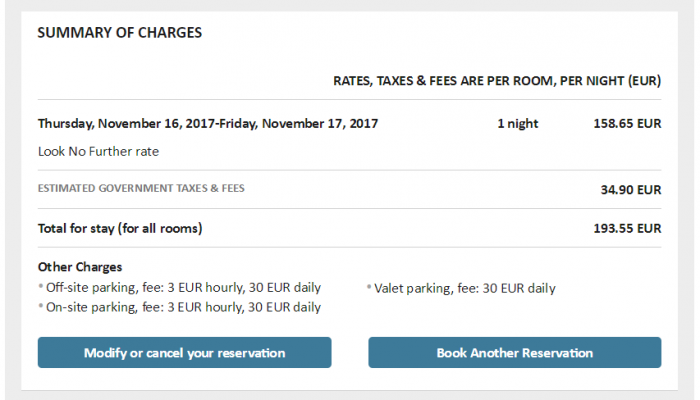 Marriott Look No Further RC Updated Confirmation