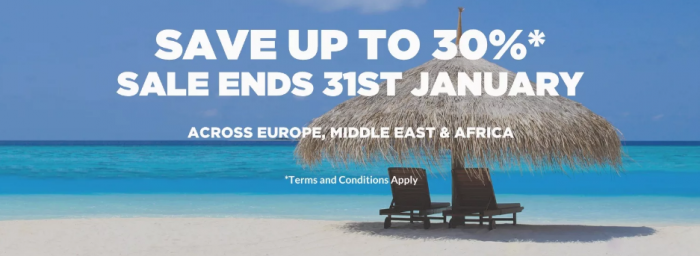 SNEAK PEEK Hilton HHonors Europe Middle East & Africa Winter Sale