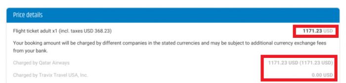 Whine Wednesdays Qatar Airways Payment Verification QR Vayama Receipt