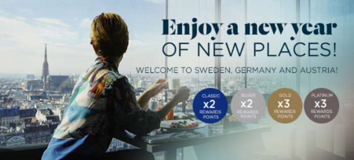 Le Club AccorHotels Sweden Germany Austria Up To Quadruple Points