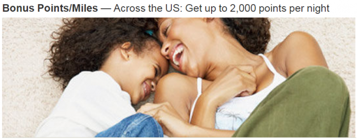 Marriott Rewards Up To 2,000 Bonus Points Per Night Across The US March 1 - April 8 2018