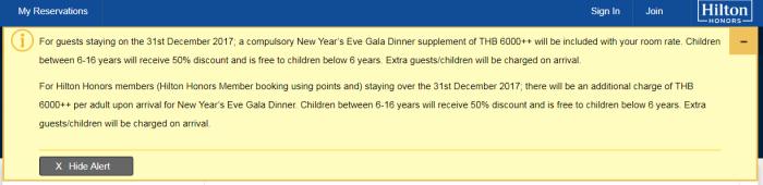 RQ Hilton Phuket New Years Gala Dinner