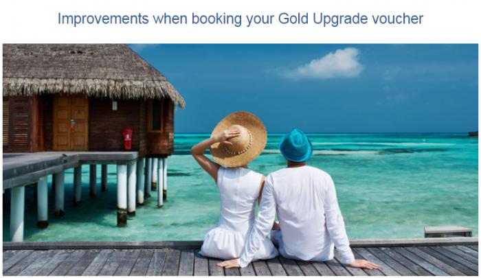 British Airways Executive Club Gold Upgrade Vouchers Enhancement