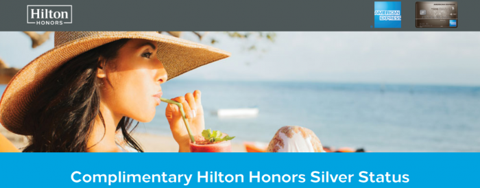 Hilton Honors Complimentary Silver Status 2018