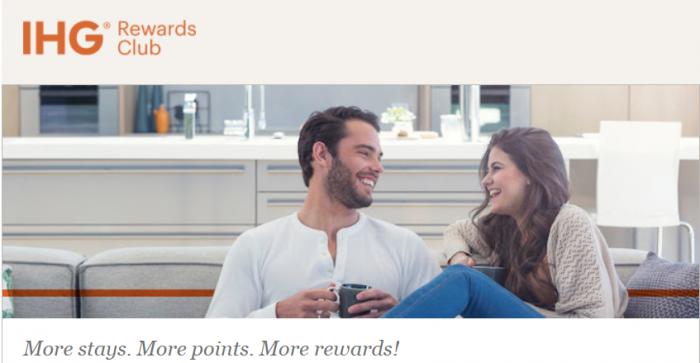 IHG Rewards Club Stay With Us Again 71,000 Bonus Points