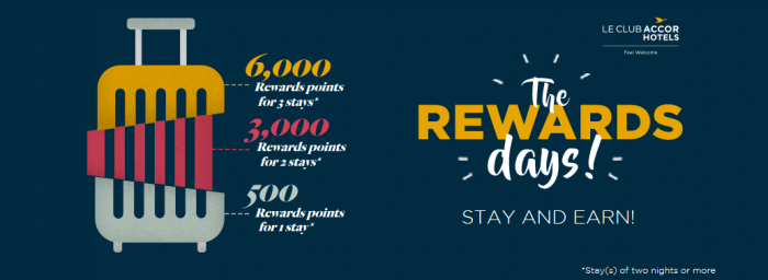 Le Club AccorHotels 6000 Bonus Points Promo February 2018