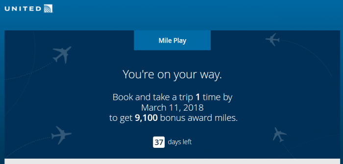 United Airlines Mileage Plus >> United Airlines Mileageplus Mile Play Promotion Loyaltylobby