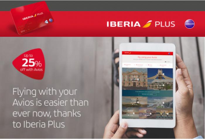 Iberia Plus Avios Discount Campaign March 2018