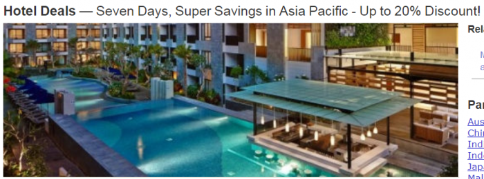 Marriott Rewards APAC Sale
