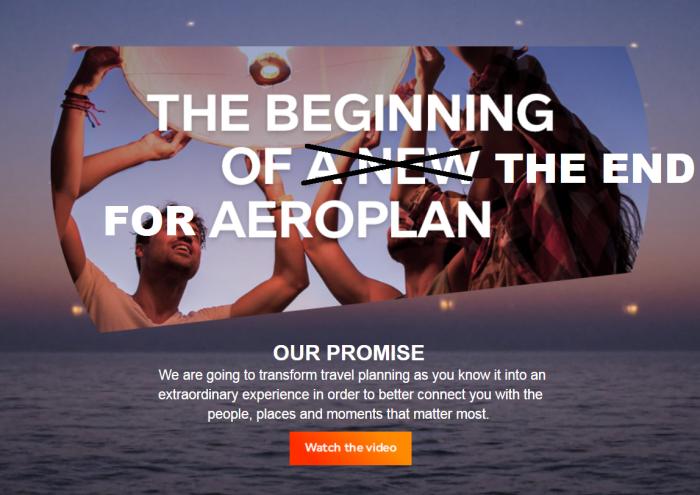 Aeroplan 2020 Update & CEO Leaves