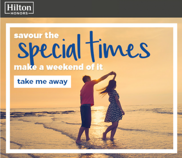 Hilton Honors Weekend Getaway Package