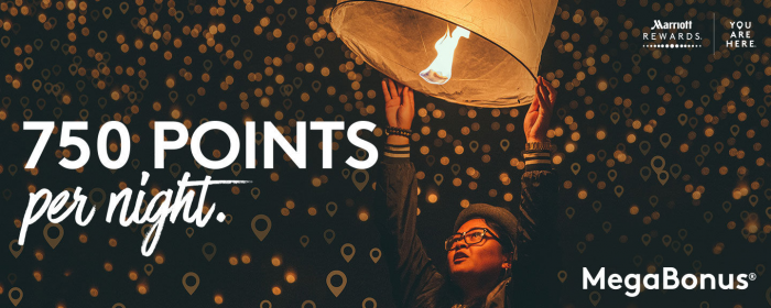 Marriott Rewards MegaBonus Spring 2018