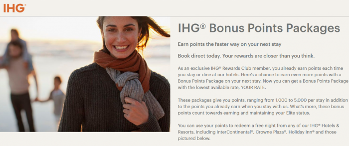 Reader Question IHG Hotels Threatens To Cancel Bonus Points Package Reservations Because Rate Is Too Low