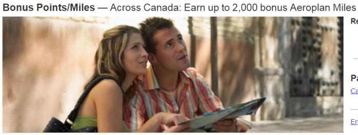 Marriott Rewards Air Canada Up To 2,000 Bonus Miles Spring 2018