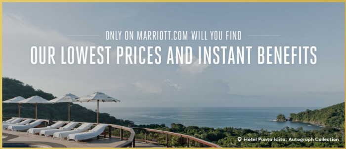 Marriott SPG Look No Further