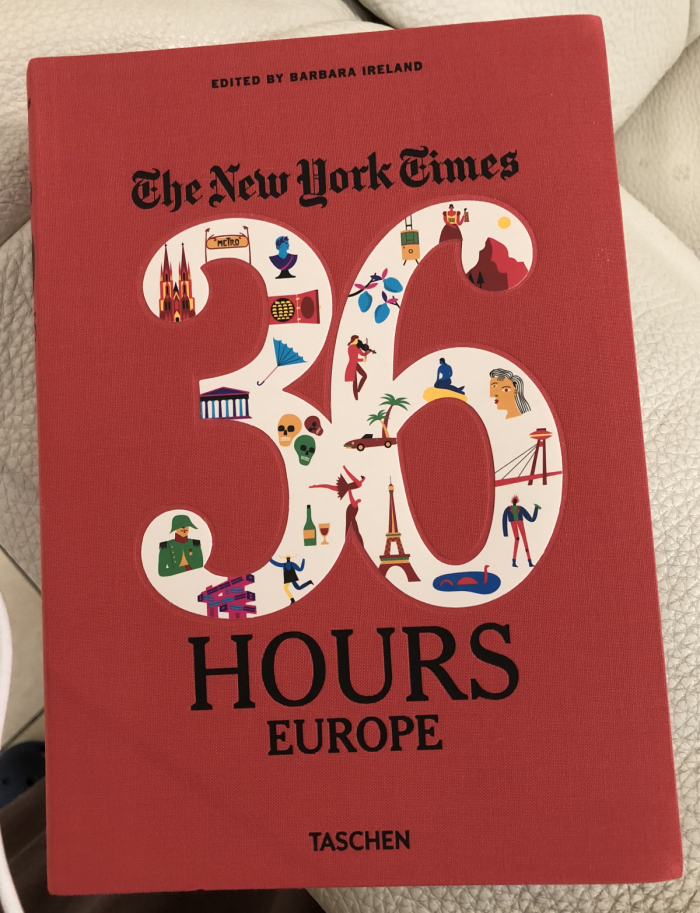 SPG Ambassador Gifts NYT Book