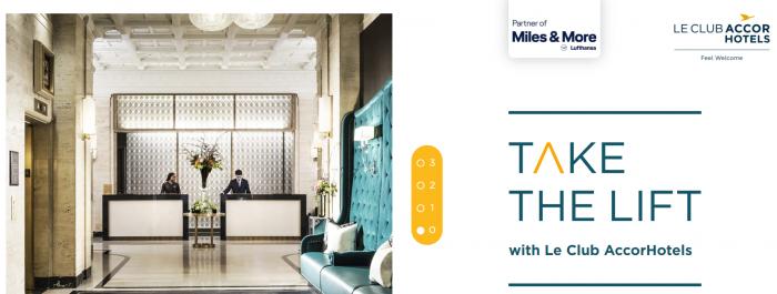 Le Club AccorHotels Lufthansa Miles&More Summer 2018
