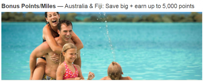 Marriott Rewards Australia & Fiji Up To 5000 Bonus Points Per Stay July 1- August 31 2018