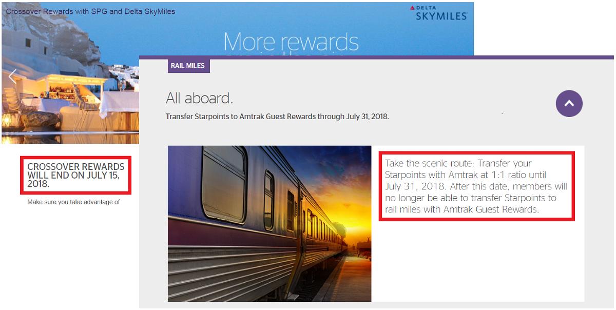 SPG Delta & Amtrak