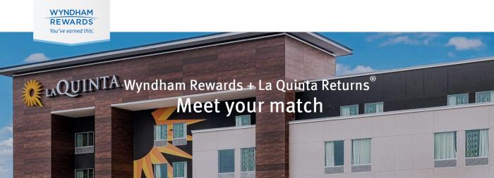 Wyndham Rewards La Quinta Returns Status Match Points Transfer