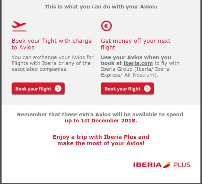 Iberia Email 2