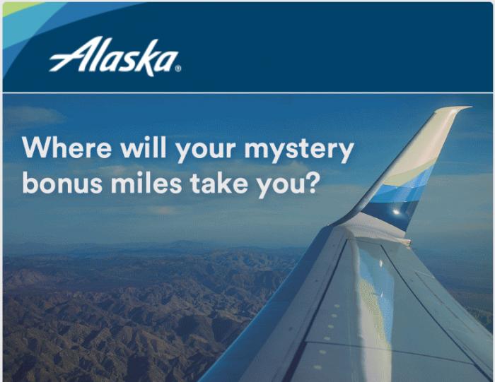Alaska Airlines Mileage Plan Mastery Bonus