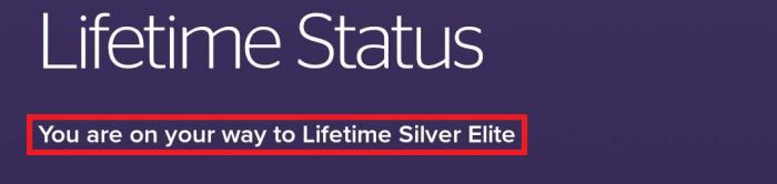 SPG Lifetime Silver Elite