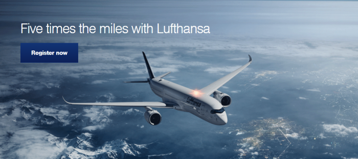 Lufthansa Miles&More Quintuple Miles