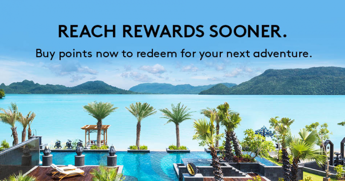 Marriott Rewards & SPG Buy Points