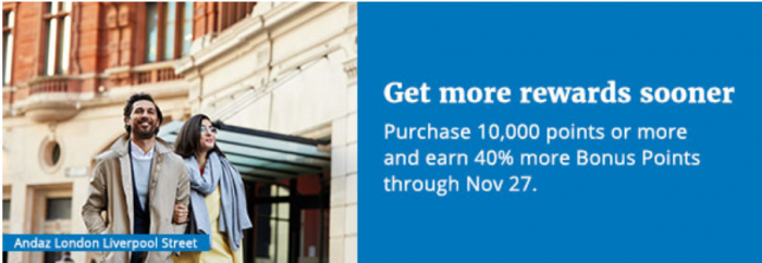 World Of Hyatt Buy Points October 2018