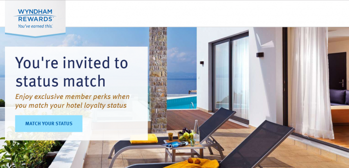 Wyndham Rewards Status Match