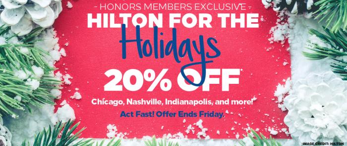 Hilton Honors Sale November 2018