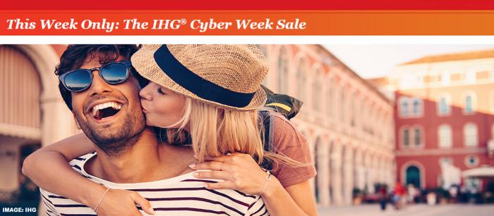IHG Rewards Club Cyber Week Sale 2018